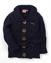 Vitamins Full Sleeves Sweater - Navy Blue