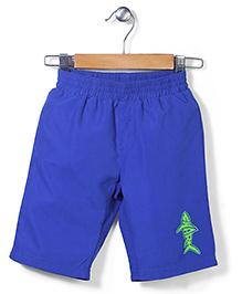Mothercare Swim Shorts Shark Print - Blue