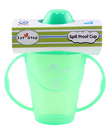 1st Step Spill Proof Cup - Green