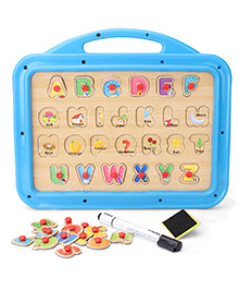 Funworld ABC Puzzle Slate - Blue