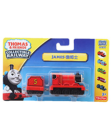 Fisher Price Thomas And Friends Collectible James Engine