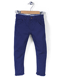 Mothercare Smart Chino Trouser - Navy Blue