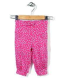 Mothercare Harem Trouser Polka Dots - Pink