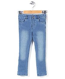 Mothercare Denim Jogger Jeans - Light Blue