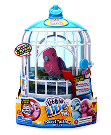 Little Live Pets With Cage - Pink