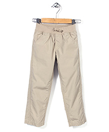 Mothercare Stone Colored Trouser