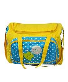 Oyster Kids Diaper Bag - Yellow & Blue