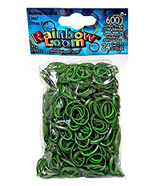 Rainbow Loom Medieval Toy Bands - Lime