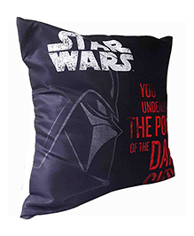 Star Wars Yoda Print Cushion Cover - Red And Green