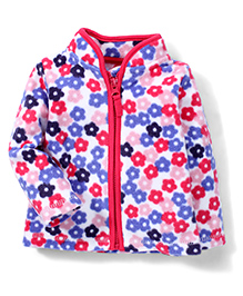 Mothercare Full Sleeves Floral Jacket - Multicolor