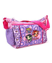 Power Puff Girls Messenger Bag Purple - 10 Inches