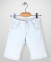 Mothercare Denim Shorts - Sky Blue