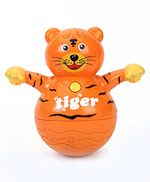 Kumar Toys Tiger Roly Poly - Orange