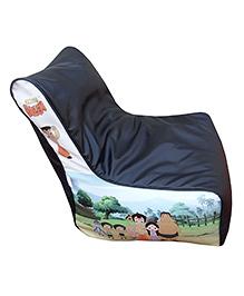 Orka Chhota Bheem Bean Filled Bag Chair Multicolour - Large