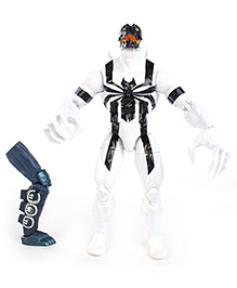 Funskool Spider Man Infinite Spawn Figure - White And Black
