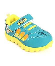 Chhota Bheem Casual Shoes - Sea Green Yellow