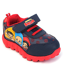 Chhota Bheem Casual Shoes - Red Navy