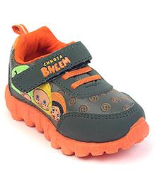 Chhota Bheem Casual Shoes - Green Orange