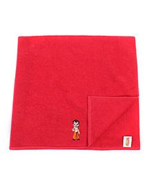 Chhota Bheem Bath Towel - Red