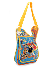 Johnny Bravo Messenger Sling Bag - 12 Inches