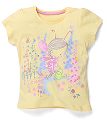 Mothercare Printed Top - Yellow