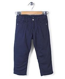Sela Full Length Pants - Dark Navy