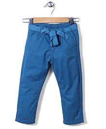 Sela Full Length Pants - Aquamarine