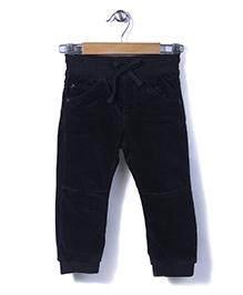 Sela Full Length Pants - Navy Blue