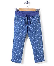 Sela Full Length Pants - Blue