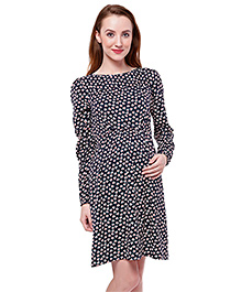 Oxolloxo Long Sleeves Maternity Dress - Medium