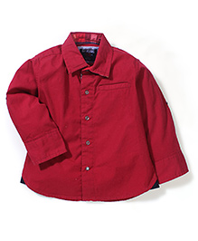 Gini & Jony Full Sleeves Shirt - Red