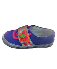 PurpleHaze Butterfly Shoes - Blue