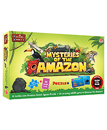 MadRat Games Mysteries of the Amazon Board Game