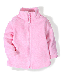 Mothercare Long Sleeves Zipper Jacket - Pink