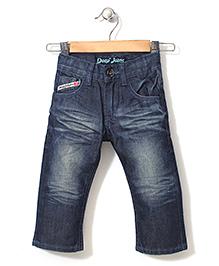 Deeper Full Length Jeans - Blue
