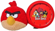 Angry Birds Clock - Red