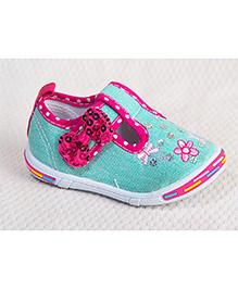 Peach Girl Cinderella Shoes - Blue
