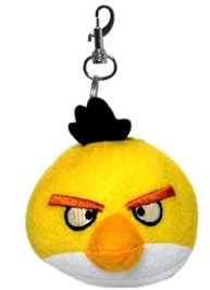 Angry Birds - Yellow Key Chain