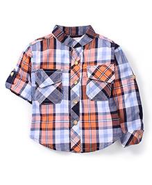 Kiddy Mall Plaid Shirt - Multicolor
