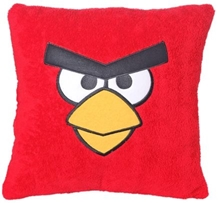 Angry Birds Cushion - Red