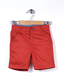 Timeless Fashion Casual Shorts - Red
