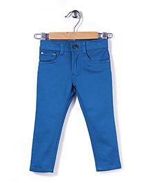 Timeless Fashion Full Length Pant - Blue