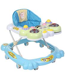 Honeybee Designed Musical Baby Walker - Blue White