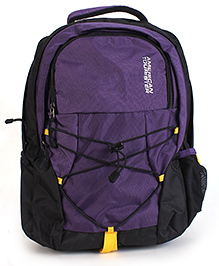 American Tourister Backpack Purple Black - 17 Inches
