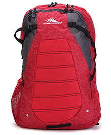 High Sierra Fallout Backpack Red - 20 Inches