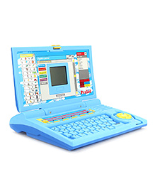 Prasid Learning Laptop English Learner - Blue And Yellow