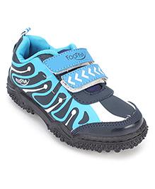 Footfun Casual Shoes - Blue Black