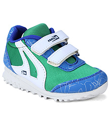 Force 10 Sports Shoes - Green Blue