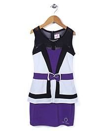 Lei Chie Stylish Party Wear Dress - Purple