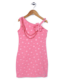 Lei Chie Straight Fit Party Dress - Pink